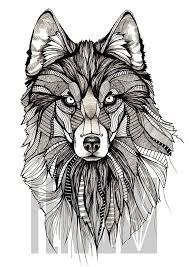 best 25 wolf design ideas on geometric wolf wolf designs doodles