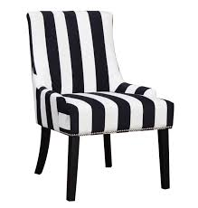 White Chairs Coaster Black And White Armless Accent Chair Goedekers Com