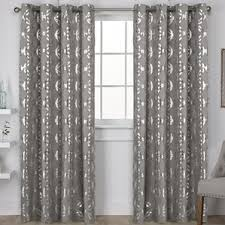 Sheer Curtains Grommet Top Modern Geometric Curtains Drapes Allmodern