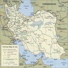 map or iran iran chamber society political map of iran