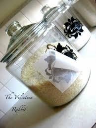 black kitchen canisters foter