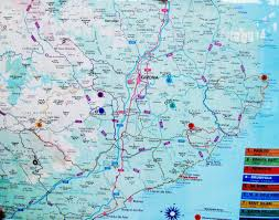 Benidorm Spain Map by Map Of Costa Brava For Tourists And Bikers Spain