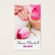 Beauty Spa Business Cards Beauty Salon Nail Spa Technician Business Cards U0026 Templates Zazzle