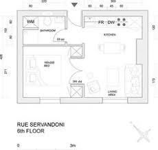 25 square meter 25 square meter micro apartment plan good rectangular plan 1st