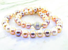 color pearl necklace images Mutli color pastel pearl necklace ll pavorsky jpg