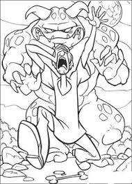 scooby doo colouring pages scooby doo chest gold coloring