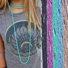 long double necklace images Small beaded double wrap necklace long double wrap jpg
