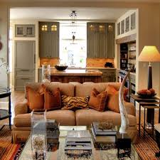 traditional livingroom kitchen traditional living room open kitchen designs with dining