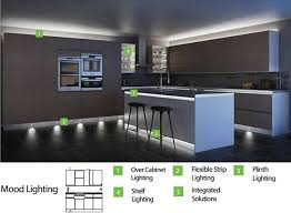 Kitchen Mood Lighting Homey Led Kitchen Mood Lighting 23 Best Show Builder Images On