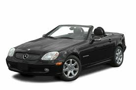 2003 mercedes benz slk class new car test drive
