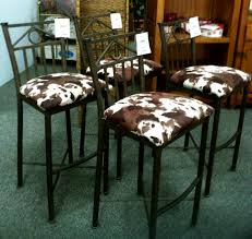 Cowhide Dining Room Chairs by Rustic Cowhide Bar Stools Cabinet Hardware Room Stunning