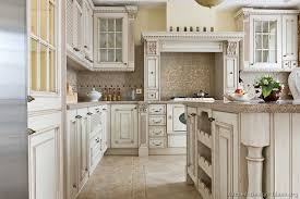antique white kitchen cabinets with gray walls antique white