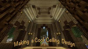 minecraft how to make an intricate ceiling design for the tree