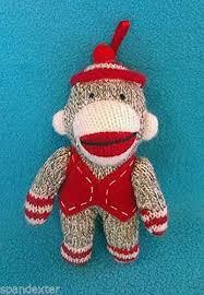 mini sock monkey ebay