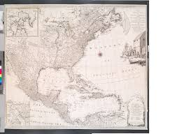 Map Letters File A New And Correct Map Of North America With The West India