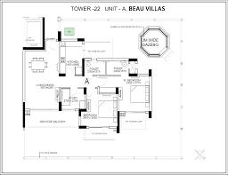 Gazebo Floor Plans Central Park Resorts Ii Beau Villas Sector 48 Gurgaon Gurugram