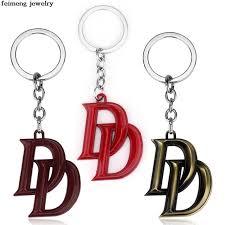 color key rings images Movie avengers union d letter pendant key chain three color key jpg
