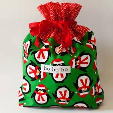 gift bags christmas october 4 christmas fabric gift bags