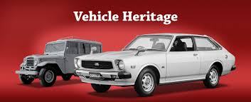 toyota financial full website toyota global site vehicle heritage