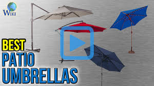 Target Offset Patio Umbrella by Top 10 Patio Umbrellas Of 2017 Video Review