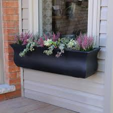 Small Window Box Flowers Window Boxes Pots U0026 Planters The Home Depot