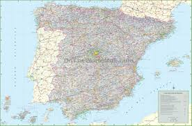 Portugal On The World Map Spain Maps Maps Of Spain