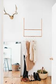 wardrobe racks how to hang a closet rod from the ceiling easy way