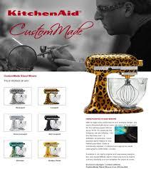 Designer Kitchen Aid Mixers Loucks Paints Custom Made Kitchenaid Stand Mixers