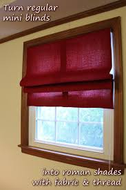 the handcrafted life how to diy roman shades
