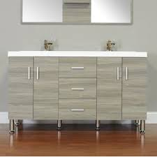 Modern Bathroom Cabinets Modern Double Bathroom Vanities Allmodern