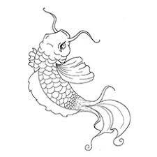 top 25 free printable koi fish coloring pages