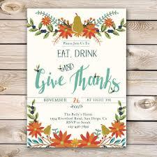 thanksgiving lunch invitations happy thanksgiving