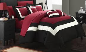 79 off on 10pc bed in a bag comforter sets groupon goods