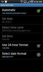 how to turn auto update on android android travel tip automatic time zone switching android central