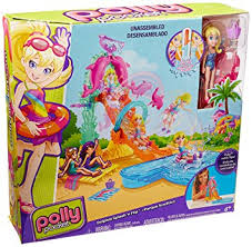 polly pocket dolphin splash u0027n flip cfp25 amazon uk toys