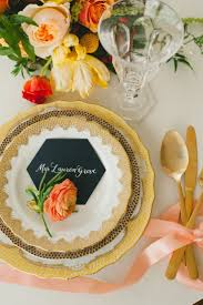 Spring Table Settings Ideas by 61 Best Place Settings For Wedding Receptions Images On Pinterest
