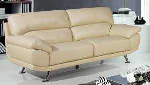 Decoro Leather Sofa by Cream Color Leather Sofa Set Gallery Image Iransafebox Pertaining
