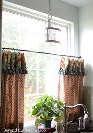 kitchen cafe curtains ideas 67 best cafe curtains images on kitchen windows cafe