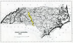 Map Of N Carolina Some Early Nc Maps
