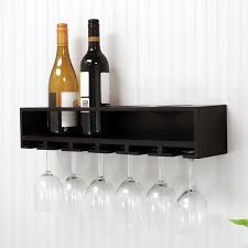 nexxt design 4 bottle wall mounted wine rack u0026 reviews wayfair