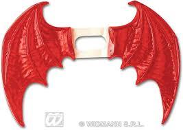 wings red maxi fancy dress halloween