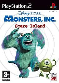 disney u0027s monsters scare island ps2 amazon uk pc