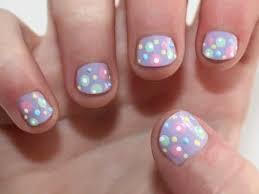 13 pretty polka dot nail designs