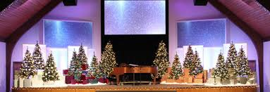 Church Decoration For Christmas Pictures by Christmas Display Church Stage Design Ideas