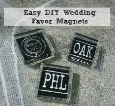 wedding magnets diy wedding favor magnets knows it all