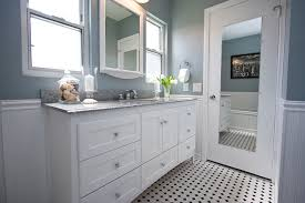 Classic Bathroom Tile Ideas Traditional Black And White Tile Bathroom Remodel Traditional