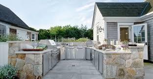 cuisine d exterieur design exterieur cuisine d été extérieure ouverte moderne