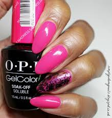 opi mad for madness sake simply into my nails