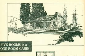 beach cabin plans vintage cabin beach house plans book 1938 charming