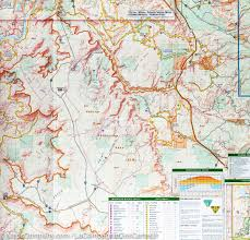 Blm Maps Utah by Trail Map Of Moab South Utah 501 National Geographic